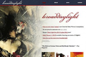 broaddaylight music website