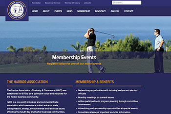 Harbor Association of Industry & Commerce website
